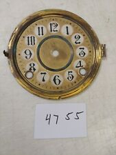 ANTIQUE WELCH  MANTLE CLOCK DIAL