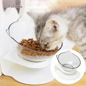 Single Elevated Pet Bowl Cat Dog Feeder Food Water Raised Lifted Stand Bowls AU
