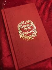 A CHRISTMAS CAROL IN PROSE, CHARLES DICKENS Deluxe Silk Binding~1984 1st Edition