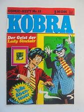 Kobra Comic Heft Nr.12 (eingetütet & geboardet) Zustand 1-2