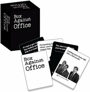 Cards Against The Office Box Against Office  card games