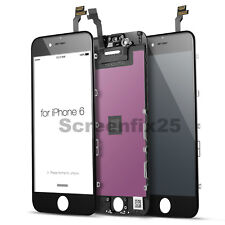 For iPhone 6 LCD Display Touch Screen Digitizer Replacement - Black Free Tools