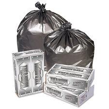 Pitt Plastics Titanium Low-Density Can Liners 55-60 gal 1.7 mil 39 x 57 Silver