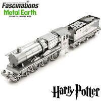 Metal Earth Harry Potter Hogwarts Express Train DIY 3D Model Hobby Building Kit