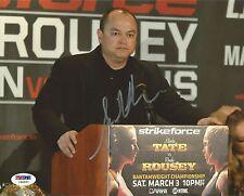 Scott Coker Signed 8x10 Photo PSA/DNA COA StrikeForce Ronda Rousey v Miesha Tate