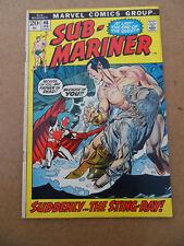 Sub-Mariner 46 . Marvel 1972 . FN +