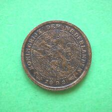 1922 Netherlands Half 1/2 Cent SNo54677