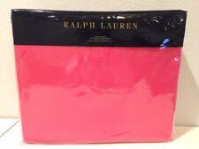 Ralph Lauren Palmer King Bed Blanket Monaco Pink