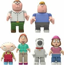 K'Nex Family Guy Complete Set of Peter, Chris, Stewie, Lois, Brian & Meg - NEW