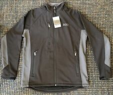 NEW WITH TAGS Beta Theta Pi Fossa Apparel M Tiburon Soft Shell Jacket Black
