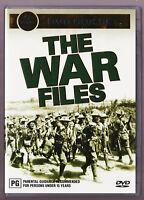 LIKE NEW The War Files (DVD, 2005, 5-Disc Box Set)  R4