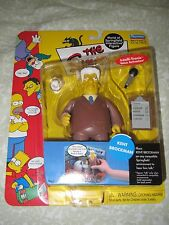 NEW Playmates Toys Simpsons Kent Brockman World Of Springfield Action Figure WOS