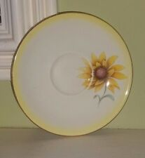 ROYAL ALBERT SUNFLOWERS  BONE CHINA SIDE SAUCER YELLOW 5 AVAILABLE