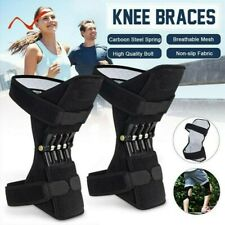 1/2PCS Unisex PowerLift Joint Knee Spring Force Rebound Pads Powerful Support