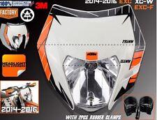 FARO DE KTM EXC Portafaros+optica ktm exc (2014-2016) sx careta foco Con Sticker