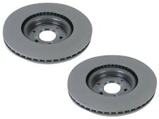 Pair Set 2 Front Disc Brake Rotors ACDelco GM OE For Cadillac SRX AWD 4Wheel ABS