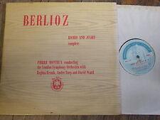 CM 57-8 Berlioz Romeo & Juliet / Monteux etc. 2 LP set