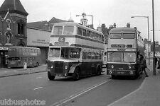 WMPTE JOJ751 & KOX704F Birmingham Bus Photo