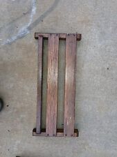 Oak Church Pew Misled Holders Or Magazine Rack Used