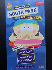 South Park/Willkommen im South Park Volumes 13-15 ovp Videokassetten-BOX/VHS