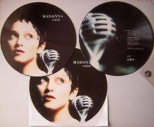 Madonna - Rain - RARE Picture Disc Vinyl Album LP 1993