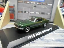 FORD Mustang GT Coupe 1968 McQueen Bullitt Movie Film TV Greenlight 1:43