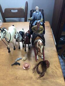 VINTAGE HARTLAND BREYER  Horse Buggy lot