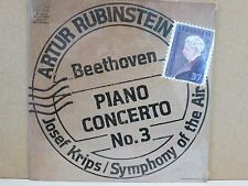 *DEMO/PROMO AGL1-5237 SEALED* RUBINSTEIN BEETHOVEN PIANO CONCERTO NO.3/KRIPS LP