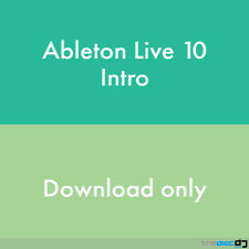 Ableton Live 10 Intro DAW Software License (transfer)