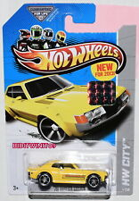 HOT WHEELS 2013 HW CITY '70 TOYOTA CELICA YELLOW FACTORY SEALED