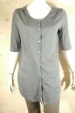 AMERICAN VINTAGE Taille 40 Superbe haut long tunique gris femme gilet