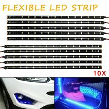 Ice Blue 10pcs Decoration 15smd 3528 LED Light Strip 12v High Power Waterproof