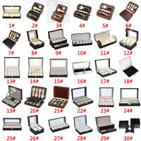 1-12Slots Watch Jewelry Display Box Bracelet Necklace Storage Case Organizer