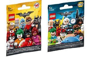 LEGO Mini Figures BATMAN MOVIE SERIES 1 & 2 - Pick / Choose the one you want