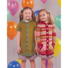 Classic Elite Yarns Liberty Wool Kids 9197 - Knitting patterns for Kids- SALE!
