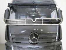 Für Tamiya Truck Actros Scheibengitter Steinschlagschutz Edelstahl Muster