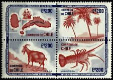 CHILE, ROBINSON CRUSOE ISLAND, 400 YEARS, MNH, SET OF 4, YEAR 1974
