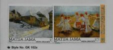 SLOVENIA Sc 505-6 NH issue of 2002 - ART