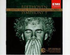 CD simon rattlebeethoven symphony 9 EX+     (A0624)