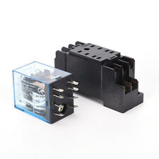24V DC 5A coil power relay MY2NJ HH52P-L 8 pins 2P2T DPDT with socket base FO