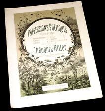 Bretagne partition piano 1885 Théodore Ritter