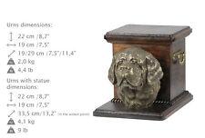 Saint Bernard, dog urn made of cold cast bronze, ArtDog, Ca - kind2