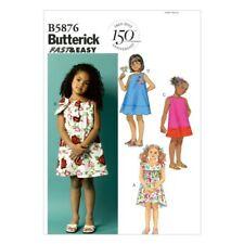 Butterick USA Sewing Pattern B 5876 CCB Children Dress Clothes 80-104