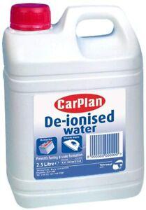 Carplan De-Ionised Distilled Water 2.5L Car Battery Steam Iron