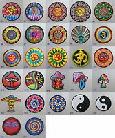"New LARGE 6/"" 16cm Sew On Patch Fair Trade Hippy Ethnic Boho Hippie Nepal"