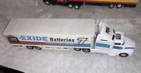 Racing Champions Nascar 1995 1/64 Exide Batteries Geoff Bodine Transporter Truck