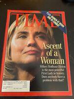 TIME May 10 1993 Hillary Rodham Clinton Woman At Work In Combat + Conan O'Brien