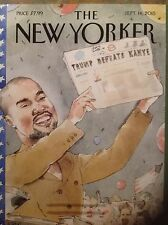 The New Yorker September 14, 2015 Kanye West