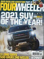 Four Wheeler May 2021  May 2021     SUV of the Year 2021