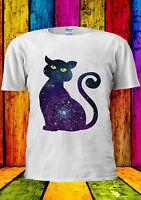 Space Cat Cute Funny Cool Tumblr T-shirt Vest Tank Top Men Women Unisex 1802
